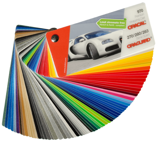 Oracal® 970 Premium Wrapping Cast Swatch