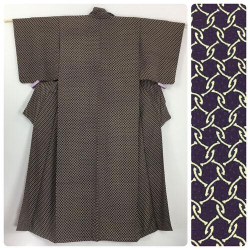 M, purple kimono for women