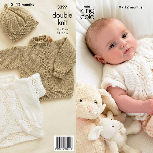 3397 baby DK Pattern
