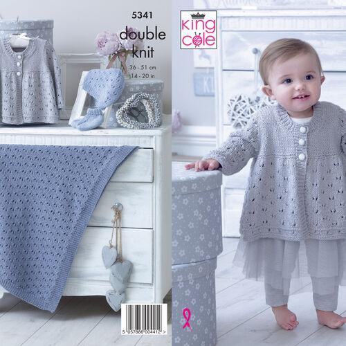 5341 Finesse Cotton Silk DK Pattern