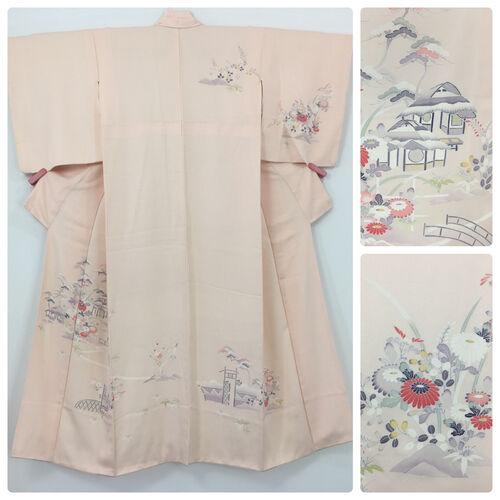 S, pink kimono for women