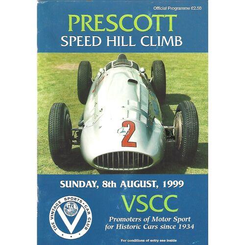 Prescott Motor Sport Programmes