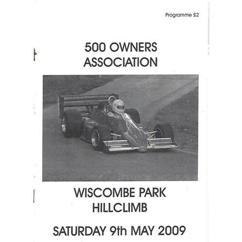 Wiscombe Park Motor Sport Programmes