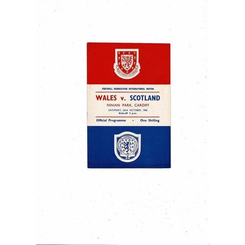 Wales Home Football Programmes