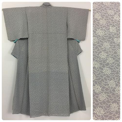 S, grey kimono for women