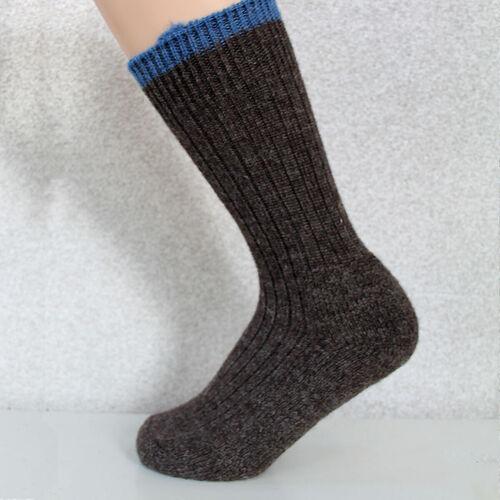 Woolyknit Wool Socks - Dark Grey Natural with Indigo Tip