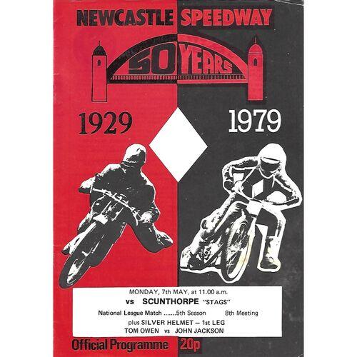 Newcastle Home Speedway Programmes