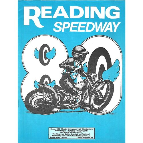 King's Lynn Away Speedway Programmes