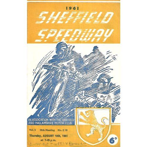 Rayleigh Away Speedway Programmes