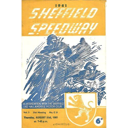 Newcastle Away Speedway Programmes