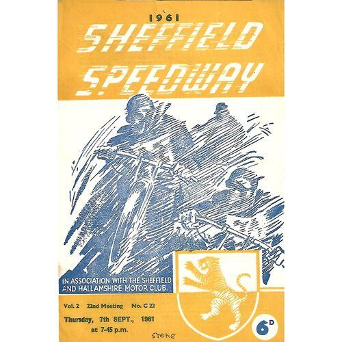 Stoke Away Speedway Programmes