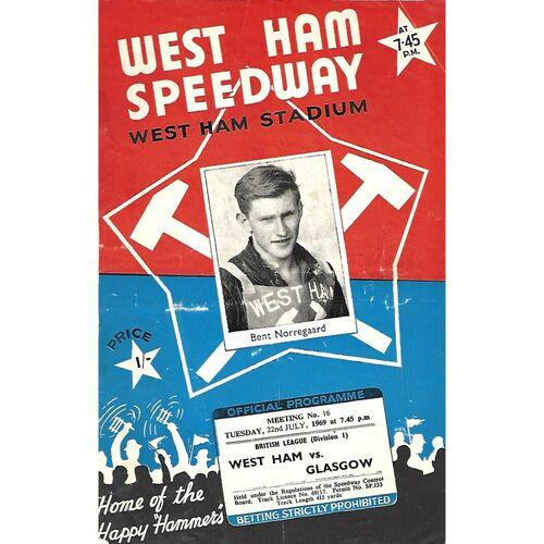 Glasgow Away Speedway Programmes