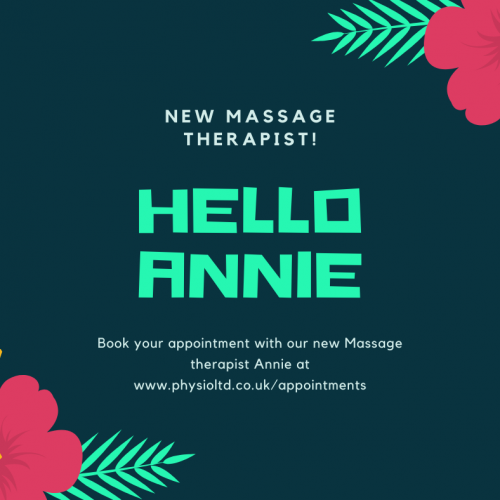 New Therapist and treatments