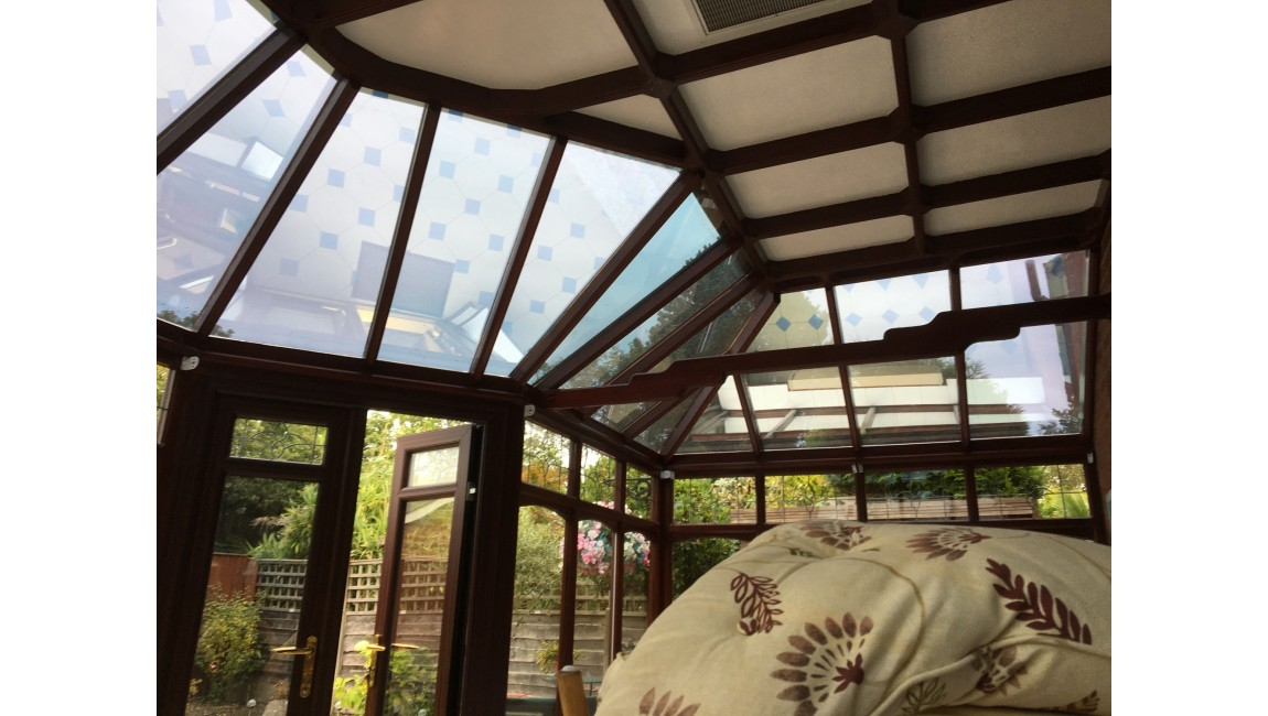 Low E Solar Control Window Film To Conservatory Reduces Loss Of Heat In Winter