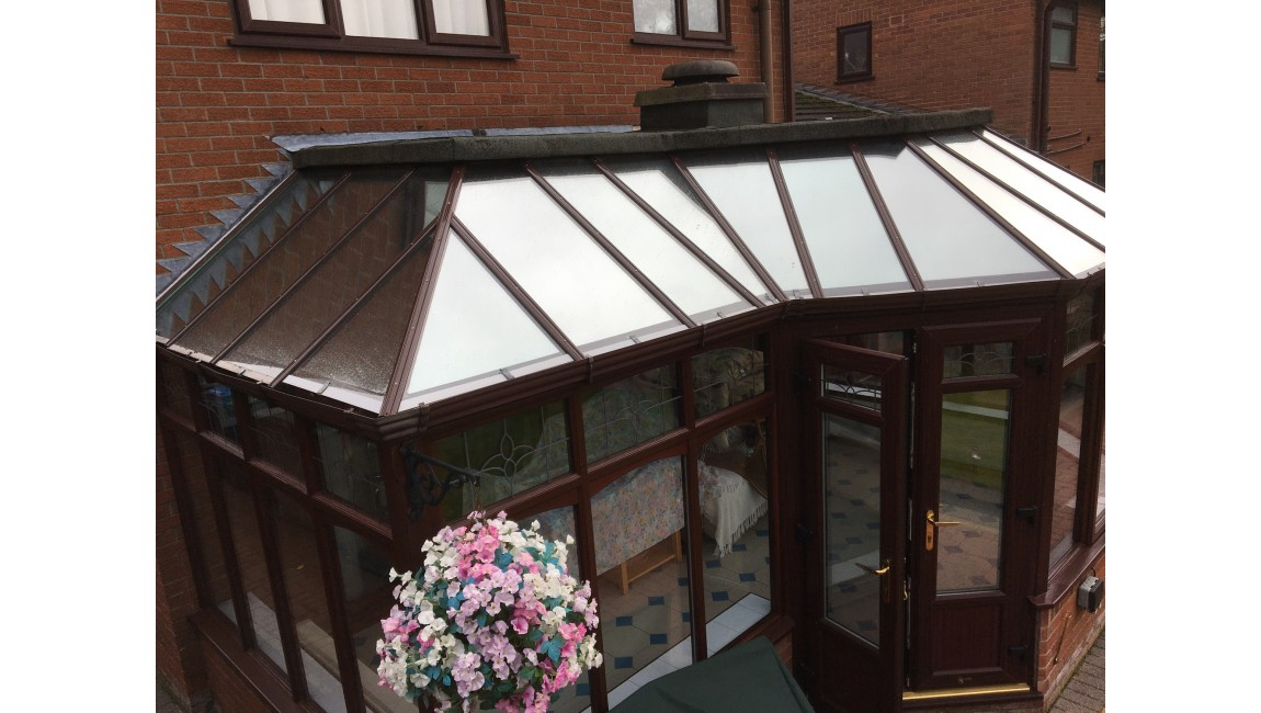 Low E Solar Control Window Film To Conservatory