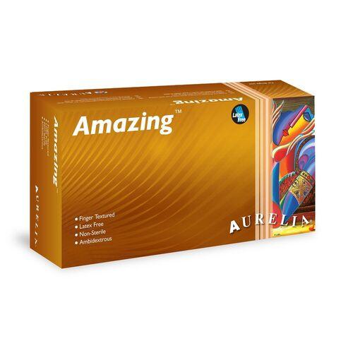 Aurelia® Amazing™ Nitrile Powder Free Gloves (Box of 300)
