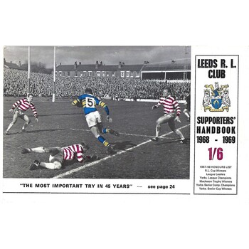 Leeds Rugby League Supporters Handbooks