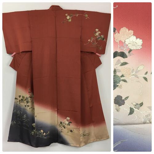 M-L, terracotta kimono for women