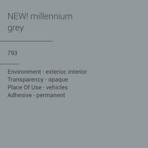 ORACAL® 970RA-793 - Millennium Grey