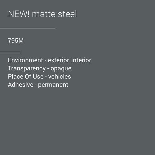 ORACAL® 970RA-795M - Matte Steel