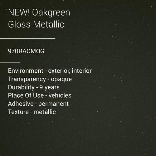 ORACAL® 970RA - Oak Green Gloss Metallic