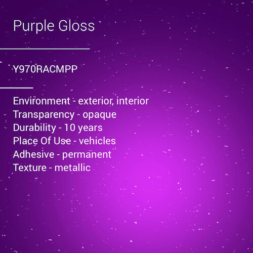 ORACAL® 970RA - Purple Gloss