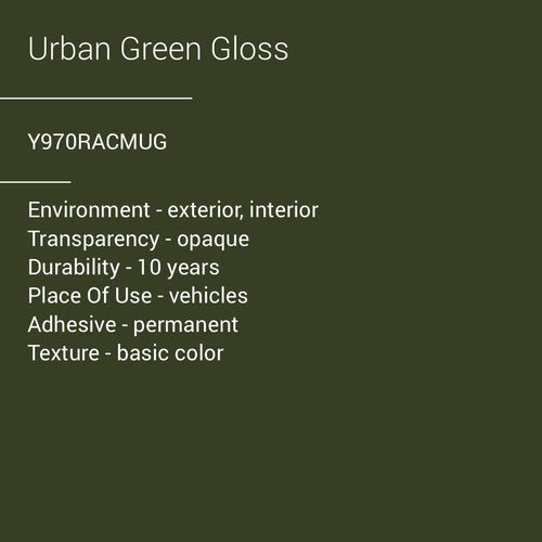 ORACAL® 970RA - Urban Green Gloss