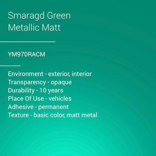 ORACAL® 970RA - Smaragd Green Metallic Matt
