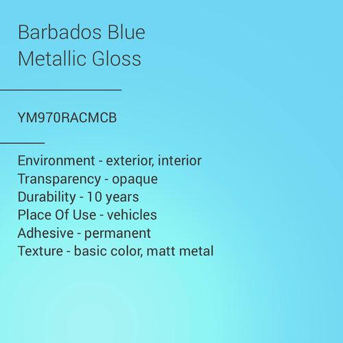 ORACAL® 970RA - Barbados Blue Metallic Gloss
