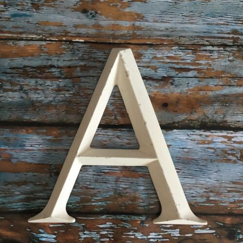 Large Resin Letter A
