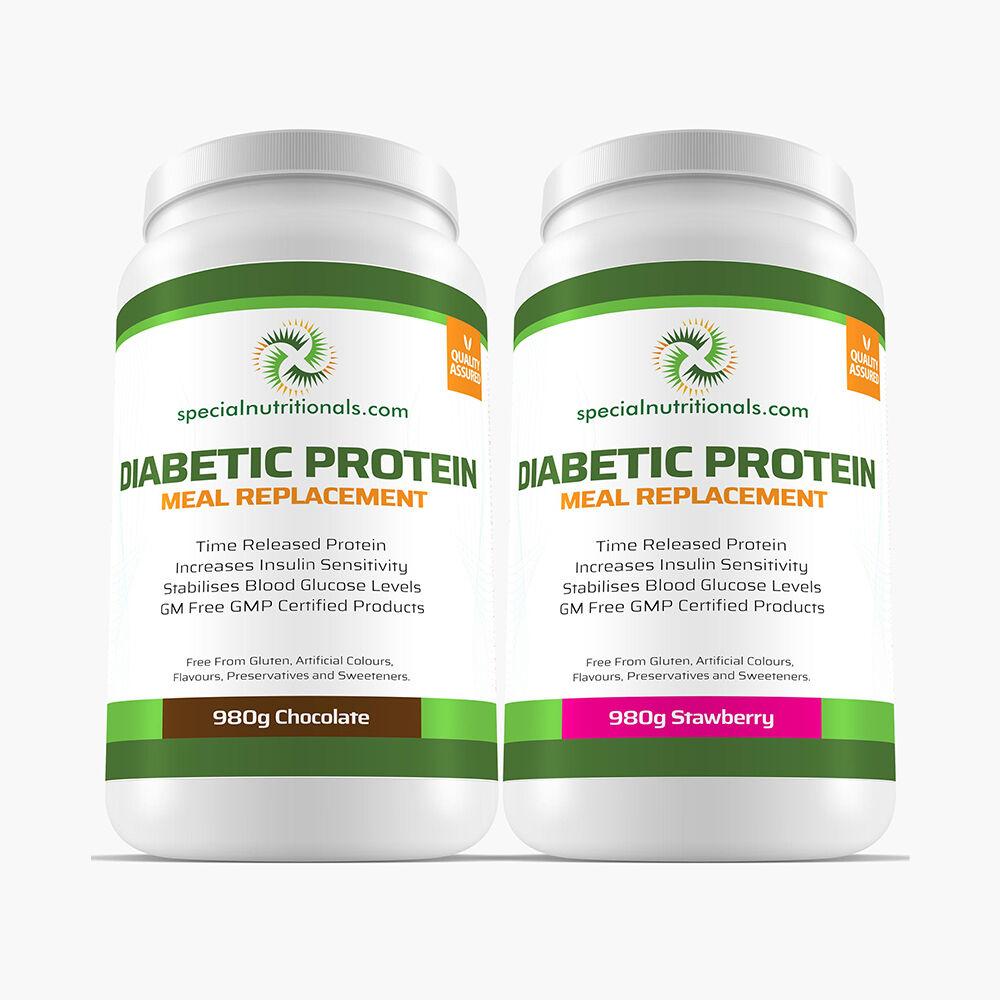Diabetic Protein x2