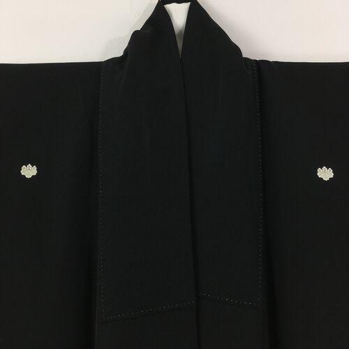 M, black tomesode kimono for women