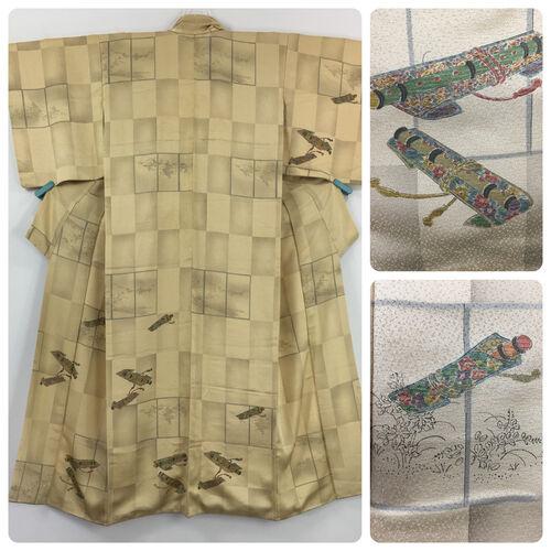 M, yellow kimono for women