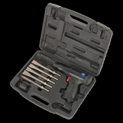 Air Hammer Kit Composite Premier - Long Stroke - Sealey - SA614
