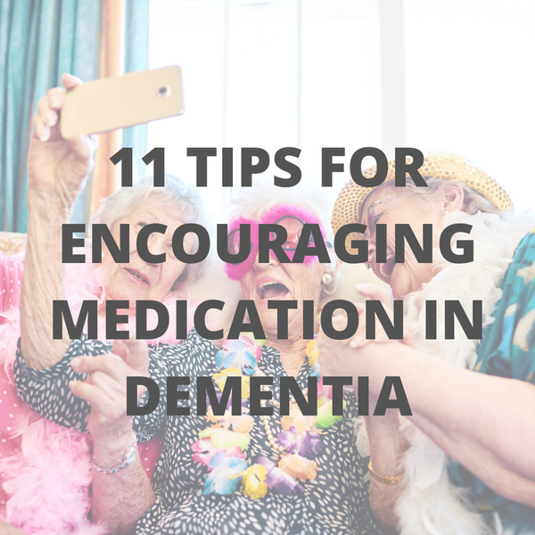 Why would someone with Alzheimer's refuse medication?