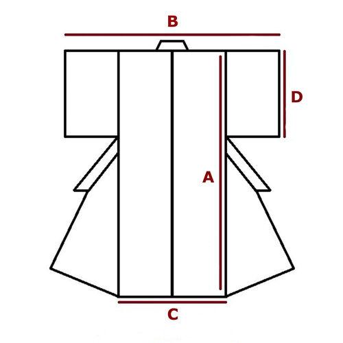 S-M, kimono for women