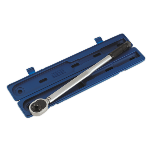 """3/4""""Sq Drive Calibrated Micrometer Torque Wrench - AK628 - Sealey"""