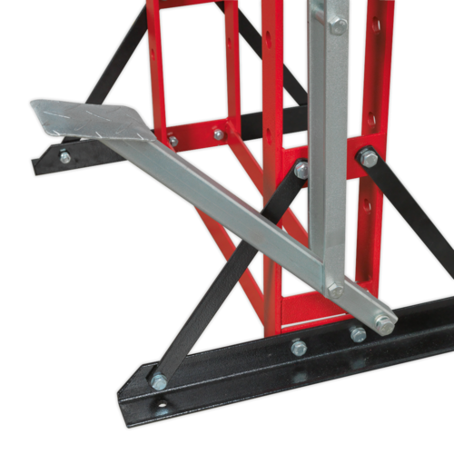 Hydraulic Press Premier 20tonne Floor Type with Foot Pedal - Sealey - YK20FFP