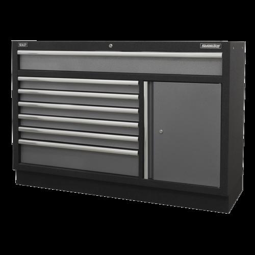 Modular 7 Drawer Floor Cabinet 1360mm - Sealey - APMS64