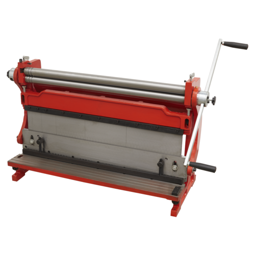 3-in-1 Sheet Metal Machine 760mm - Sealey - TIO760