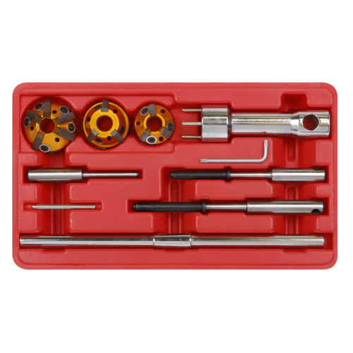 Valve Seat Cutter Set 10pc - Sealey - VS1823