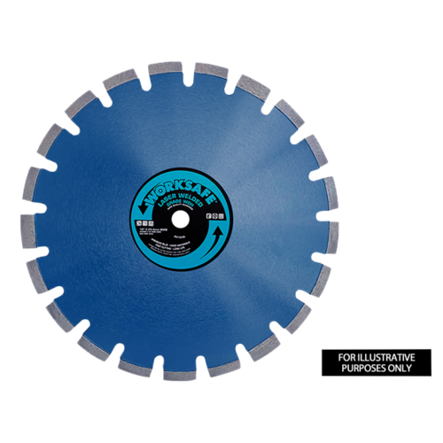 Premium Blue WDA Diamond Blade Ø450 x 25mm - WDA450 - Sealey