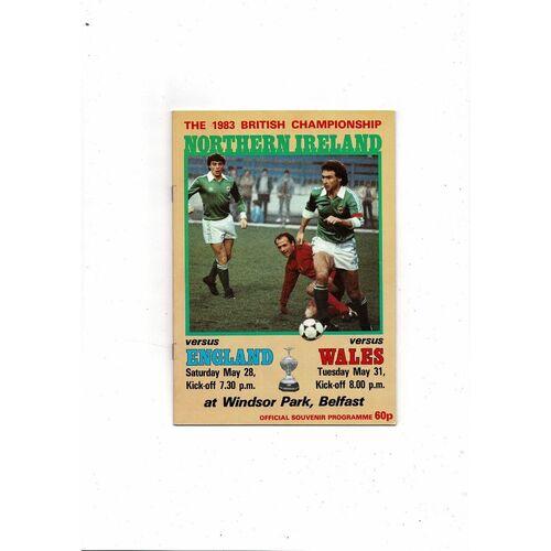 Wales Away Football Programmes
