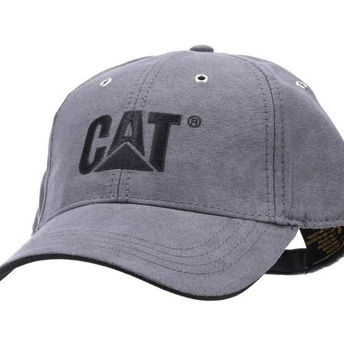 Trademark Microsuede Baseball Cap Graphite - CAT Workwear