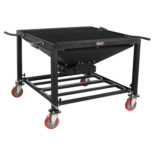 Plasma Cutting Table/Workbench - Adjustable Height with Castor Wheels - PCT2