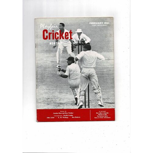 Playfair Cricket Monthly Magazine - February 1961