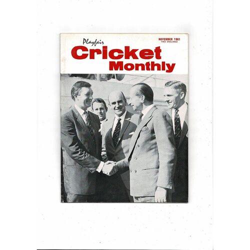 Playfair Cricket Monthly Magazine - November 1961