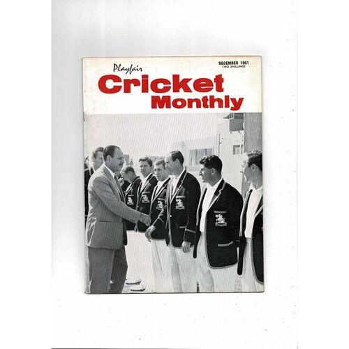 Playfair Cricket Monthly Magazine - December 1961