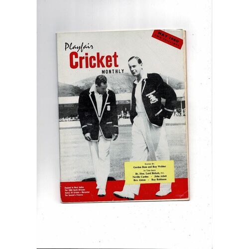 Playfair Cricket Monthly Magazine - May 1960