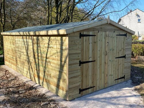 #001 20x10 Apex Shed Work Shop